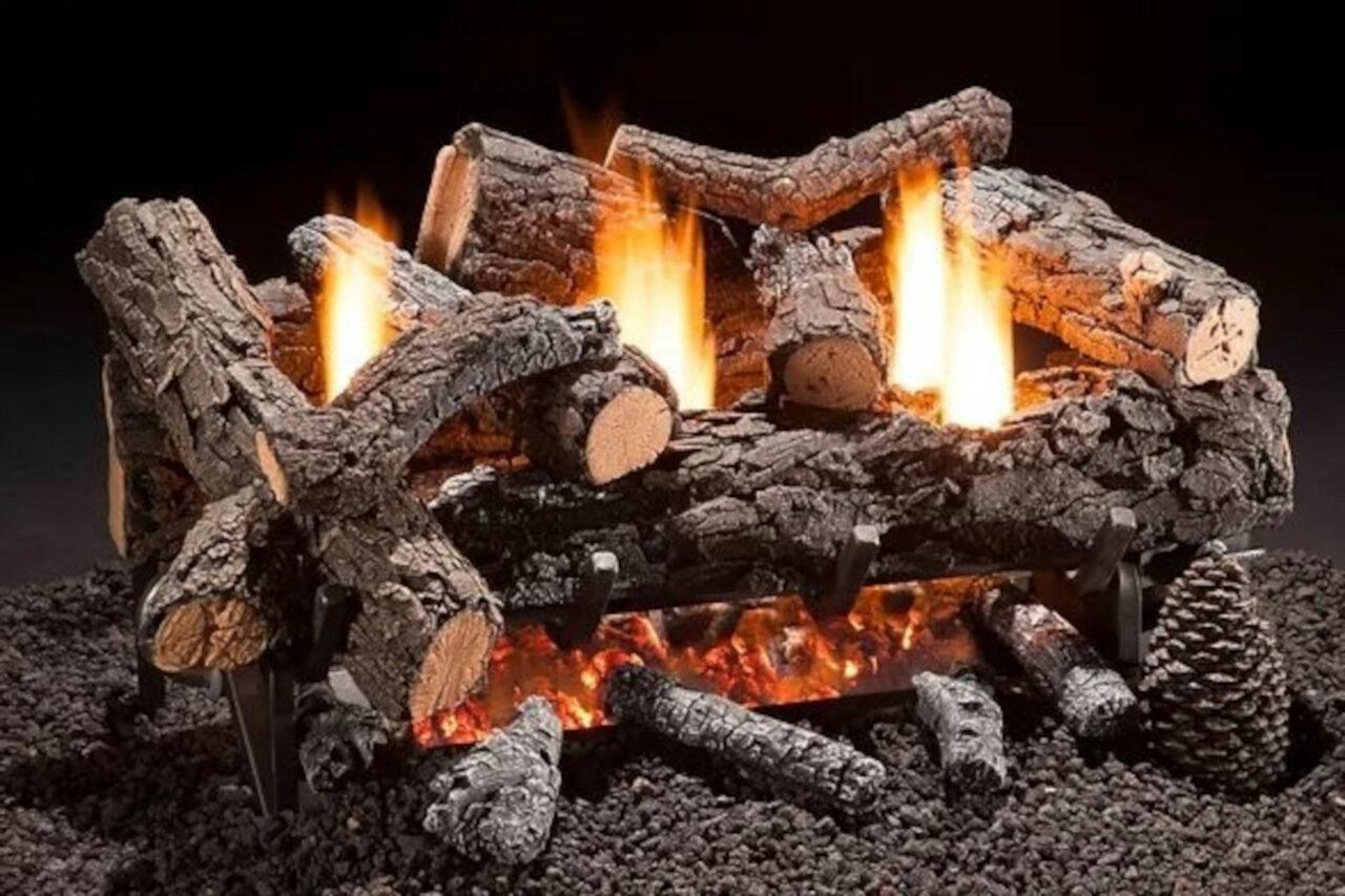 Hargrove Cozy Fire Vent Free Log Set