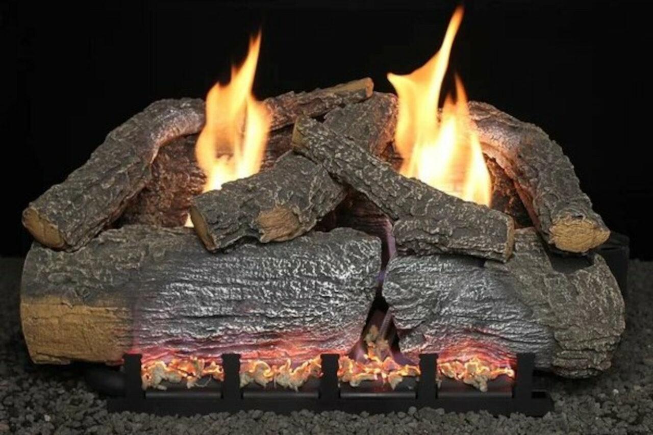 Hargrove Frontier Blaze Vent Free Log Set