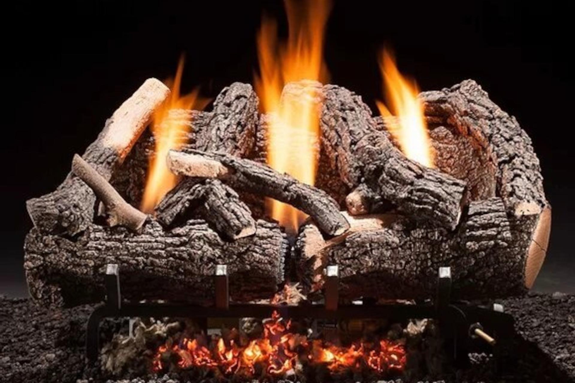 Hargrove Heritage Char Vent Free Log Set