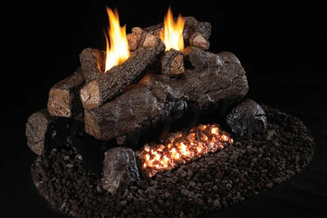 Real Fyre - Evening Fyre See-Thru Log Set