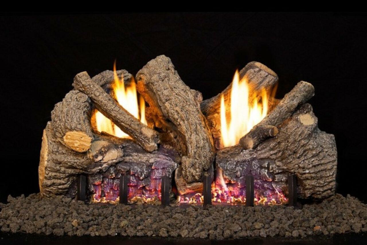 Real Fyre Foothill Oak Vent Free Log Set