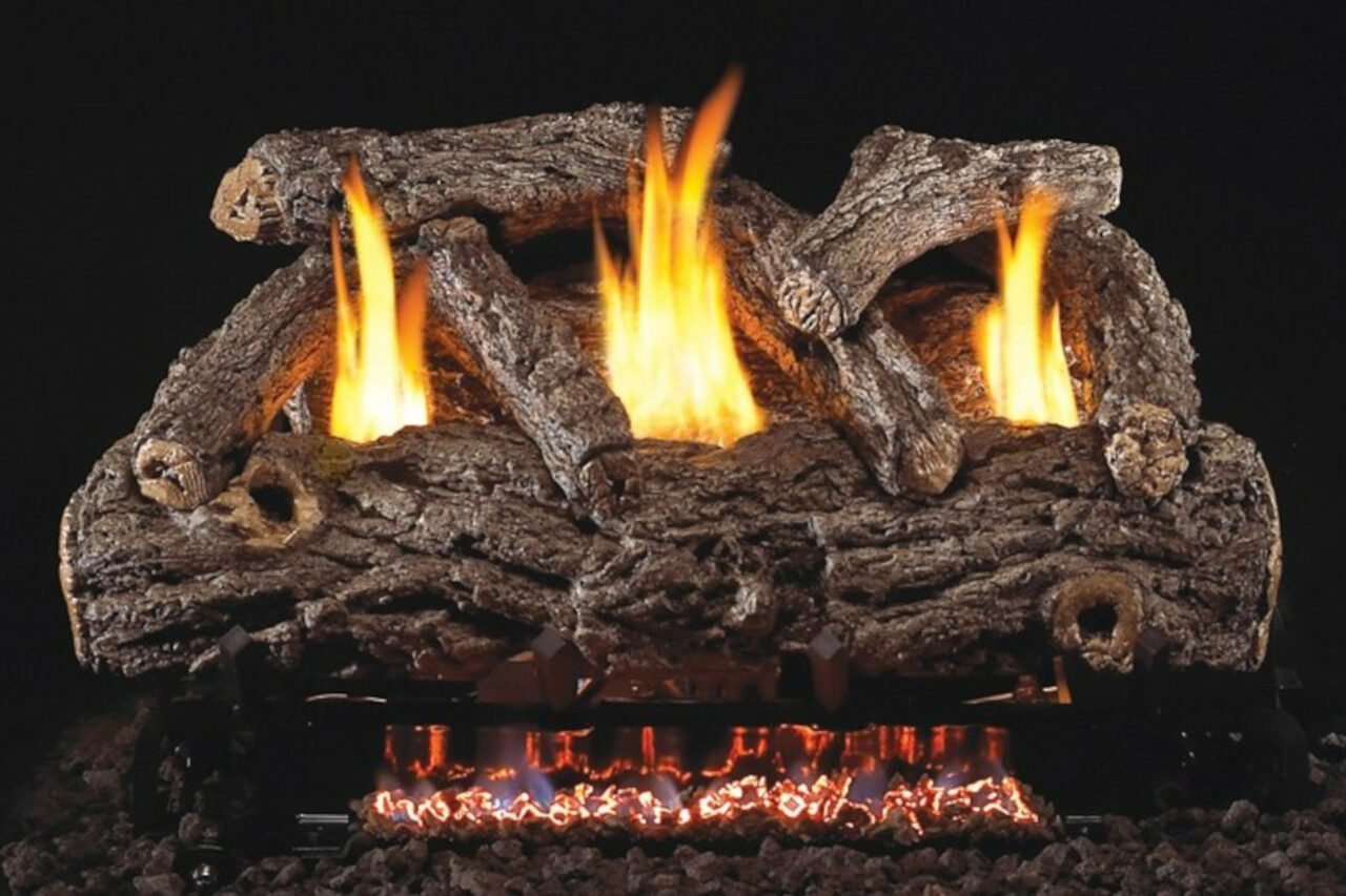 Real Fyre Golden Oak Designer Vent-Free Log Set
