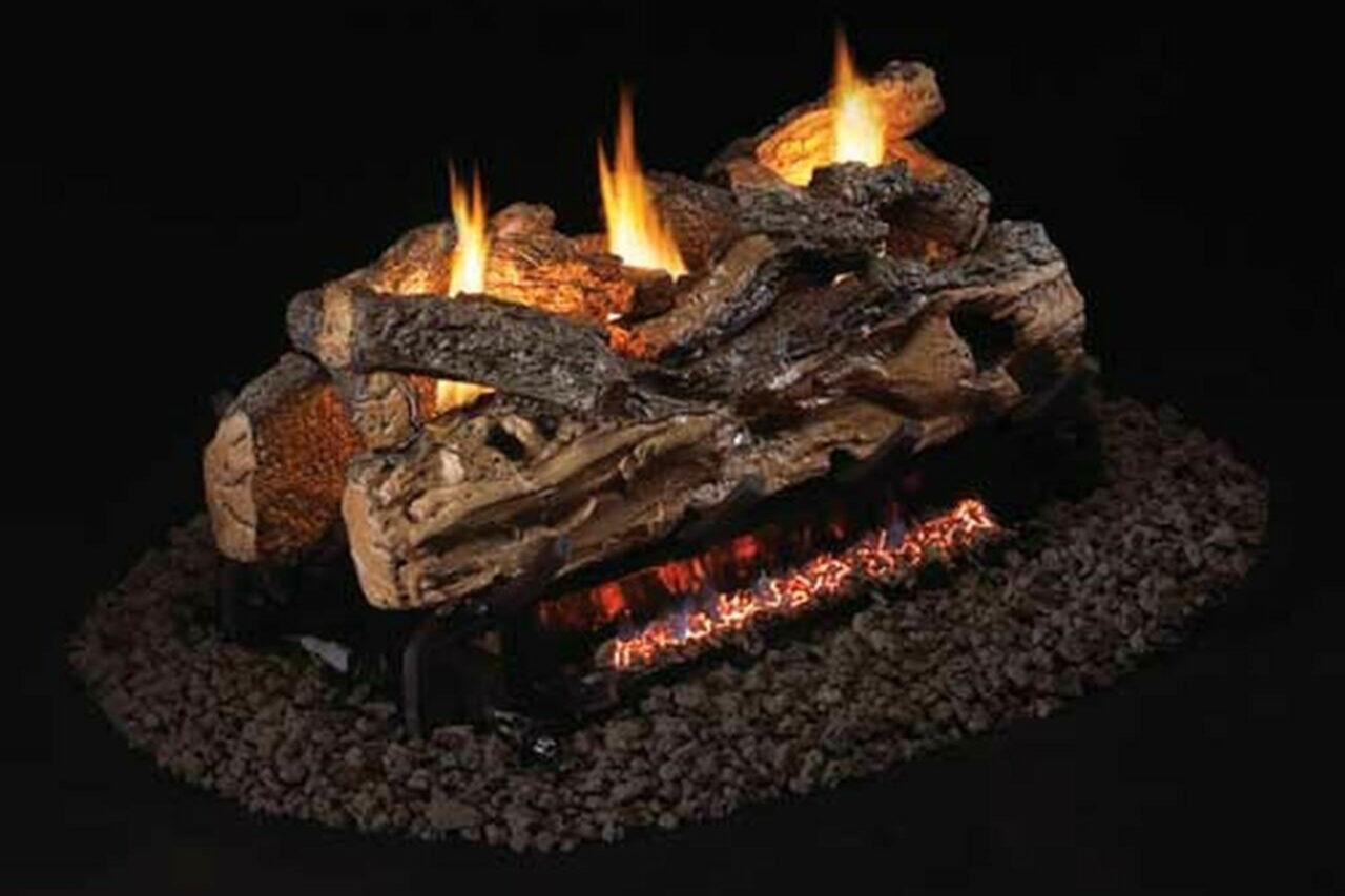 Real Fyre - Split Oak See-Thru Log Set