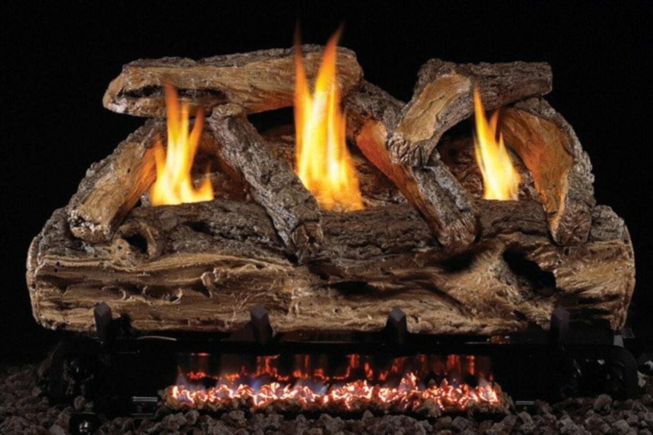 Real Fyre Split Oak Vent-Free Log Set
