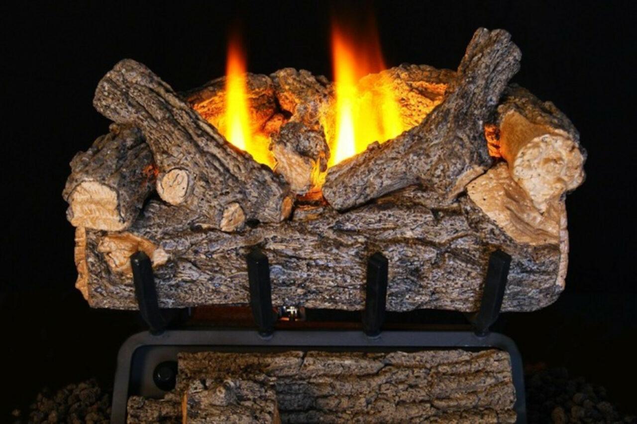 Real Fyre Valley Oak Vent-Free Log Set