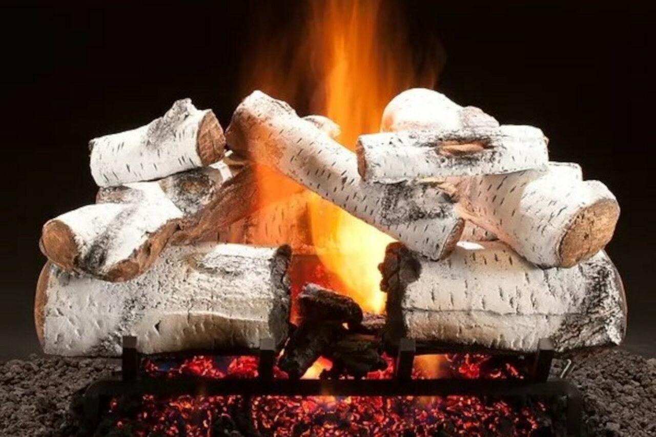 Hargrove Aspen Timbers Vented Gas Log Set