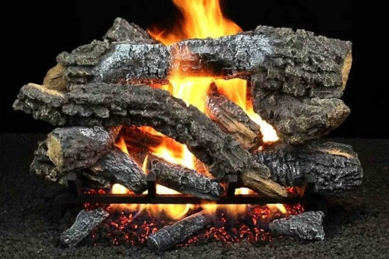 Hargrove Canyon Timbers Vented Gas Log Set