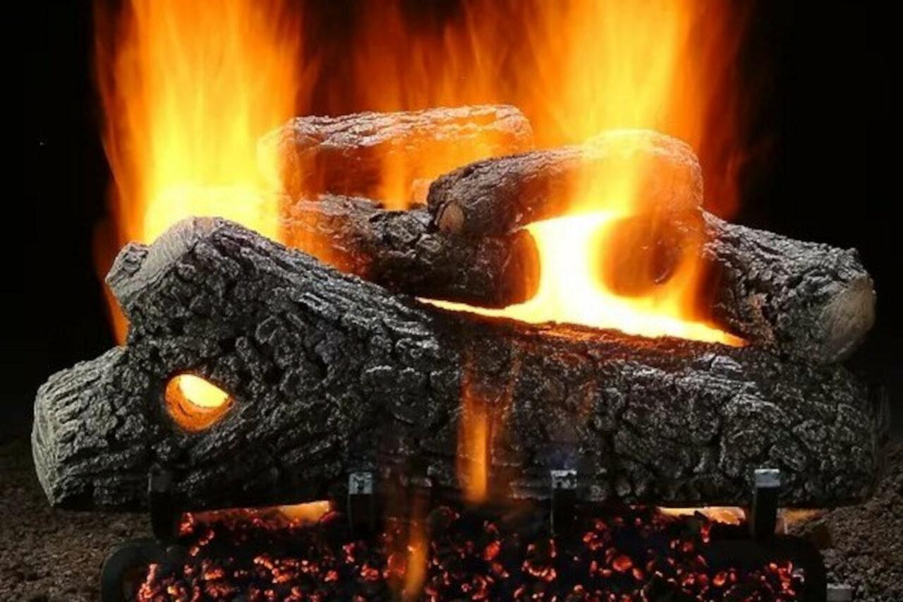 Hargrove Classic Oak Vented Gas Log Set