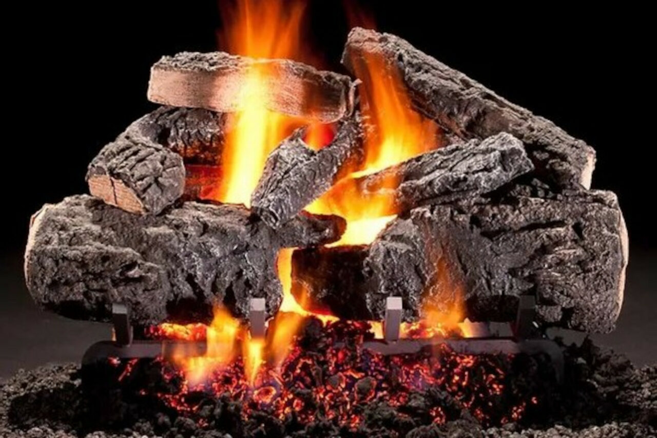 Hargrove Cross Timbers Vented Gas Log Set
