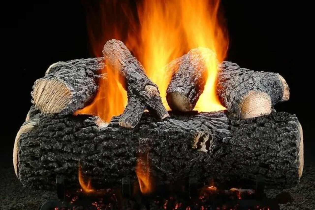 Hargrove Grand Oak Vented Gas Log Set
