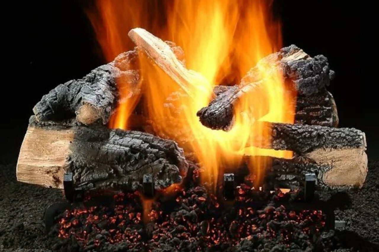 Hargrove Inferno Series Vented Gas Log Set
