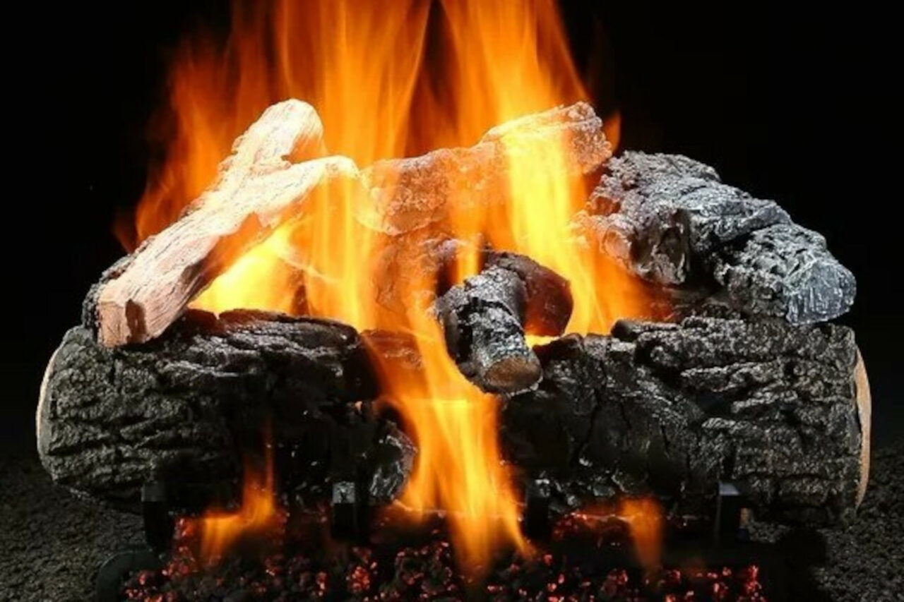 Hargrove Magnificent Inferno Vented Gas Log Set