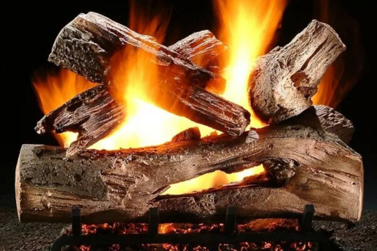 Hargrove Mountain Timber Vented Gas Log Set
