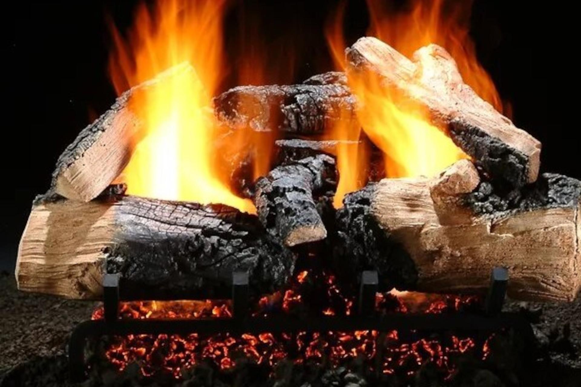 Hargrove Twilight Inferno Vented Gas Log Set
