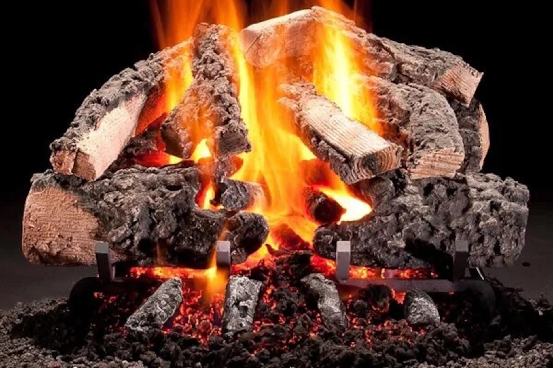 Hargrove Woodland Timbers Vented Gas Log Set