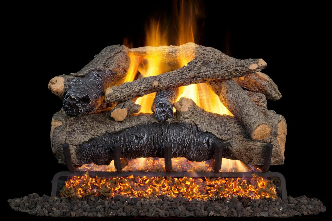 Colonial Oak - Real Fyre Vented Gas Log Set