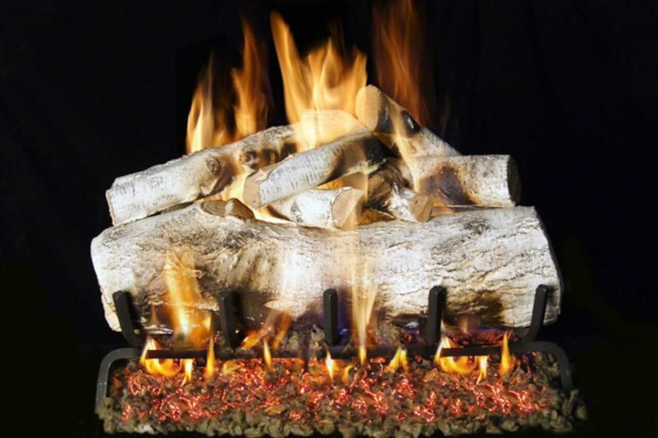 Mountain Birch - Real Fyre Vented Gas Log Set