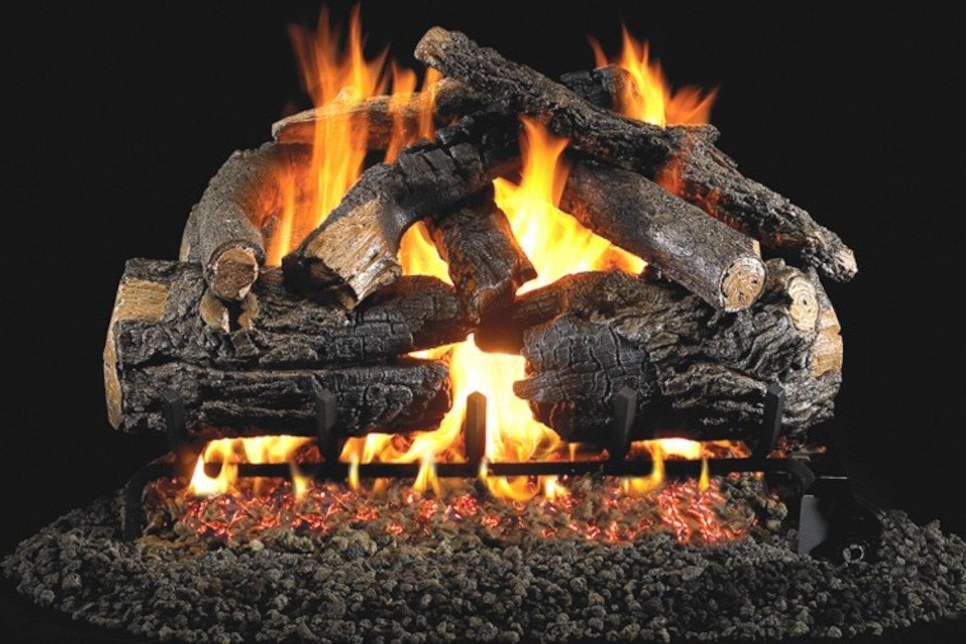 Pioneer Oak - Real Fyre Vented Gas Log Set