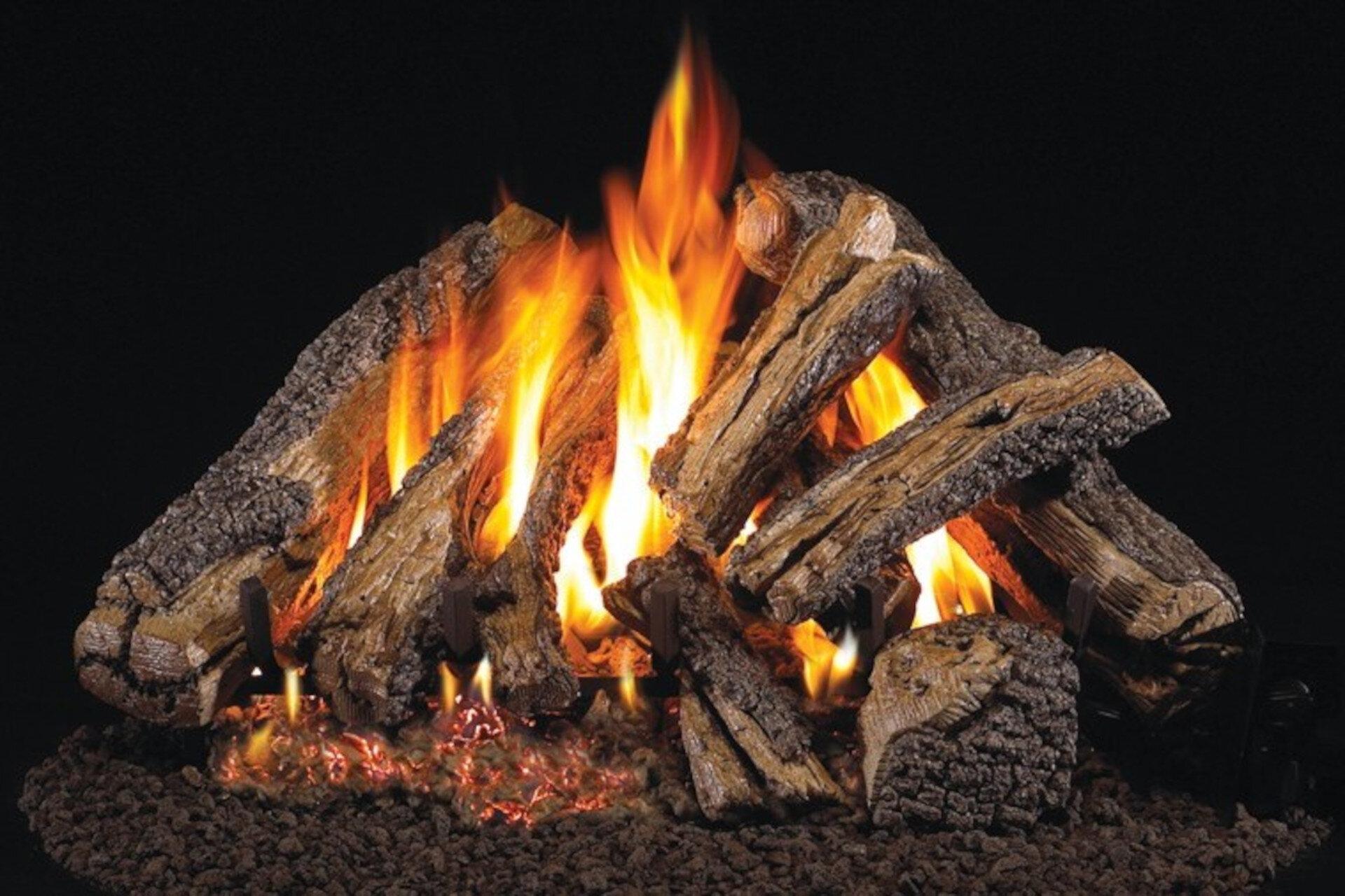 Western Campfyre - Real Fyre Vented Gas Log Set