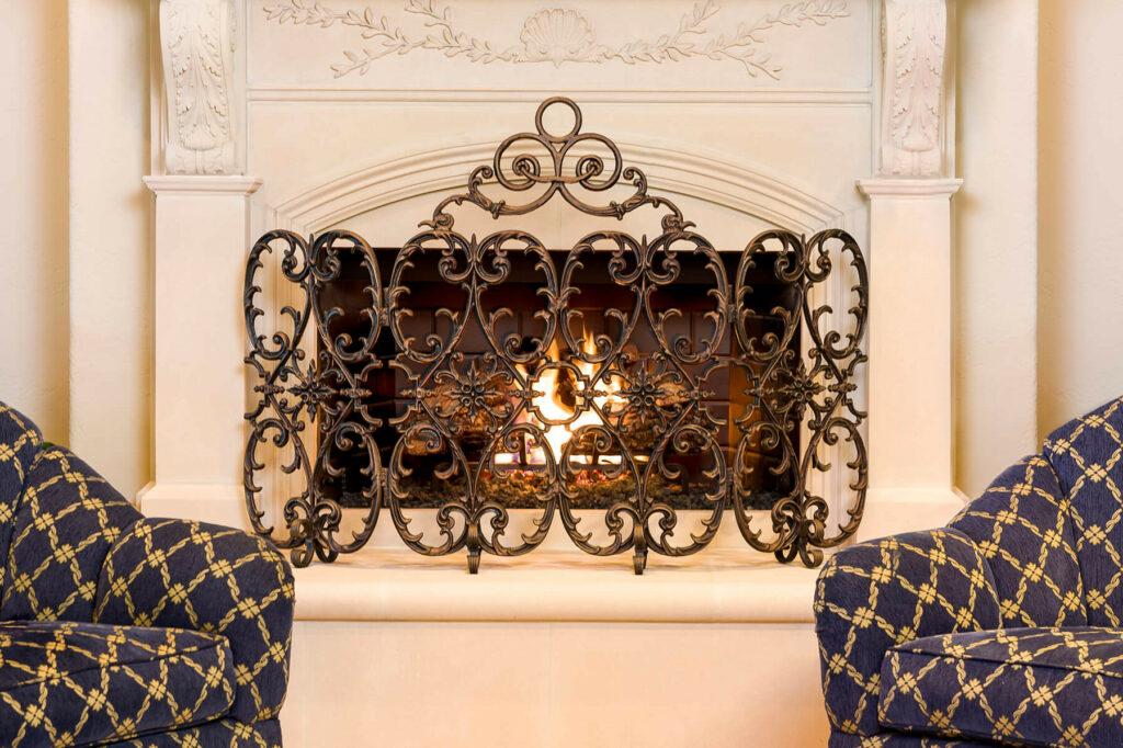 Ornamental Designs Custom Fireplace Doors