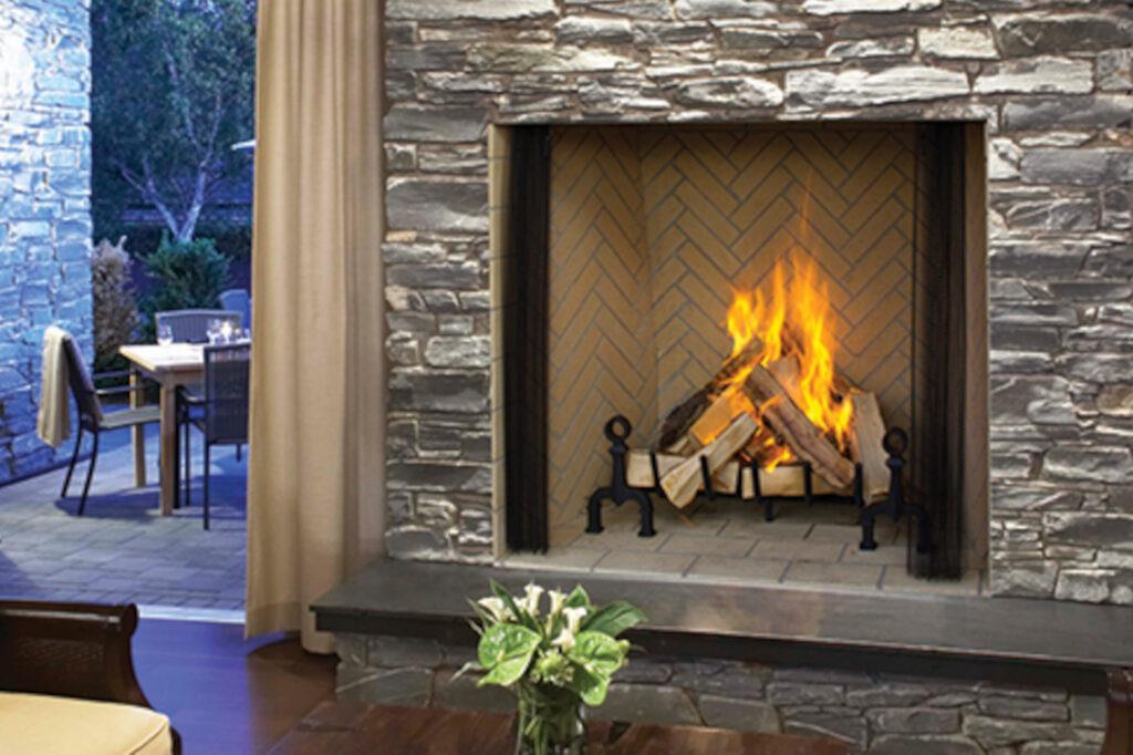 Astria Plantation Fireplace
