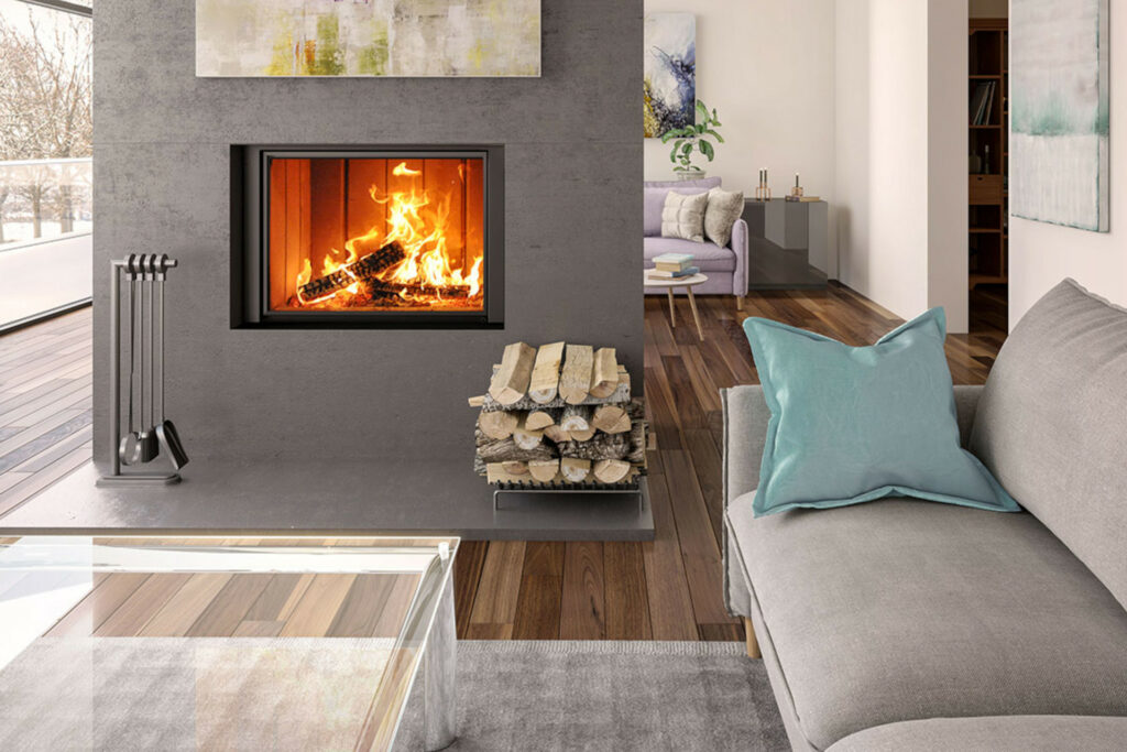 Renaissance Uptown 600 Fireplace