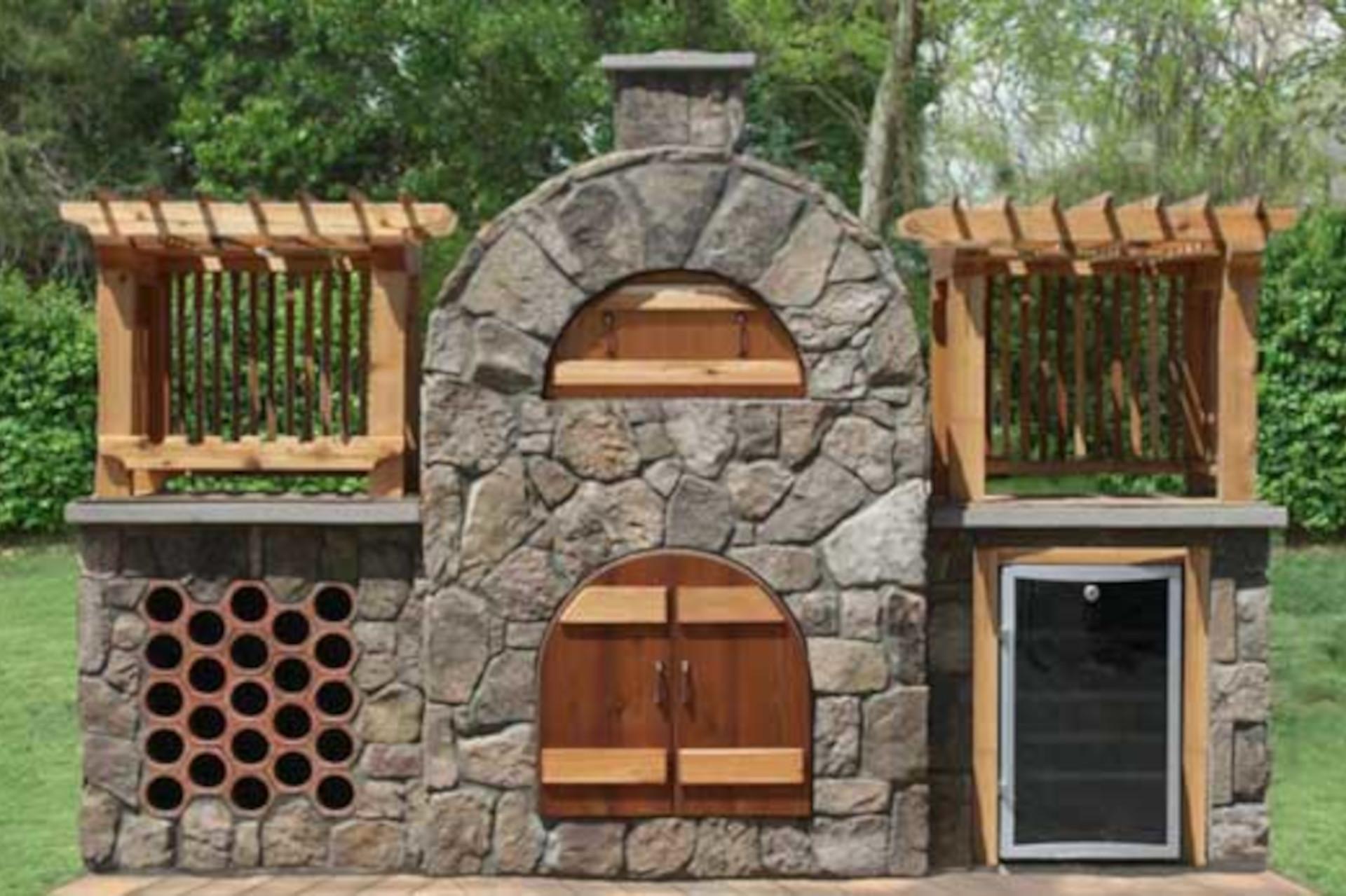Stone Age Masonry Pizza Oven Kits