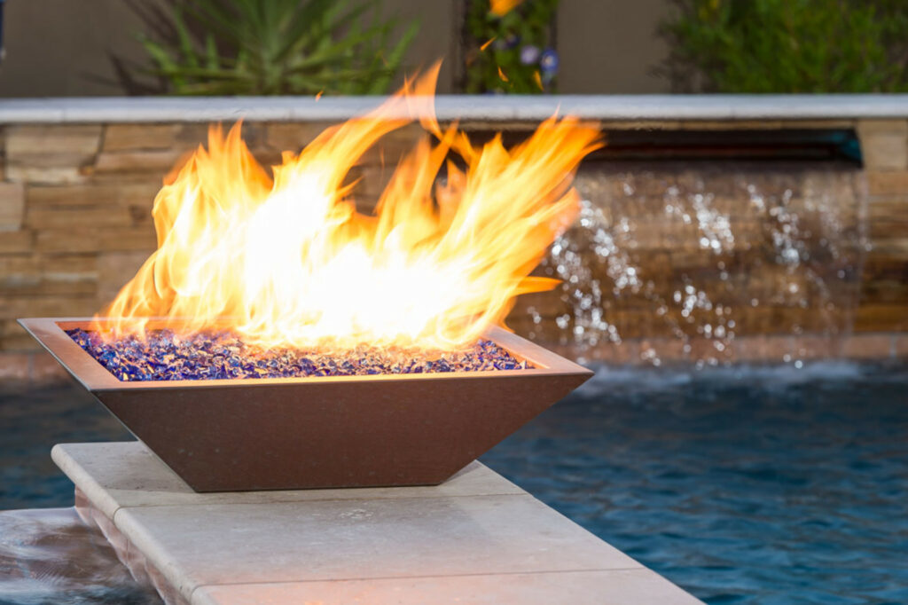 Athena Fire Glass Outdoor Accessories