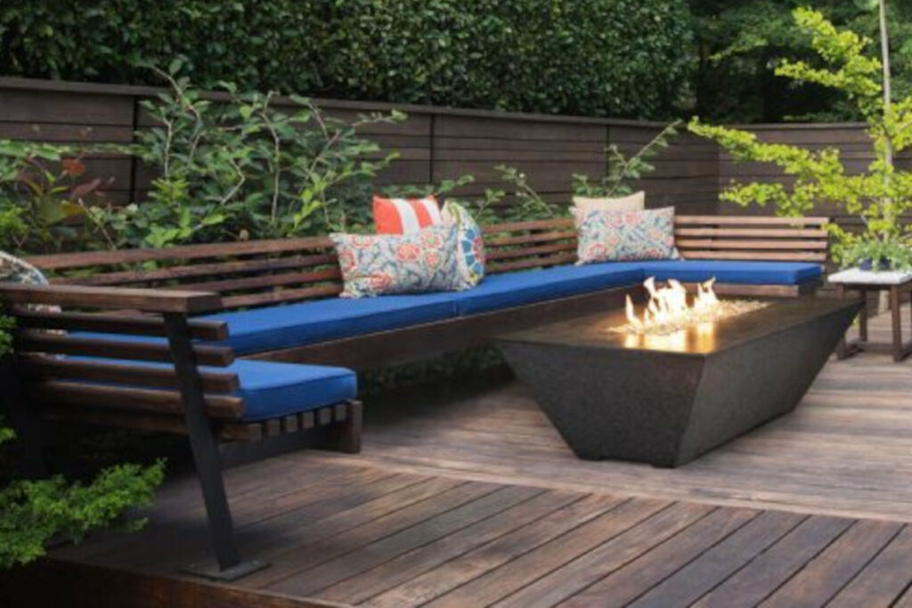 Athena Fire Glass Outdoor Fire Features