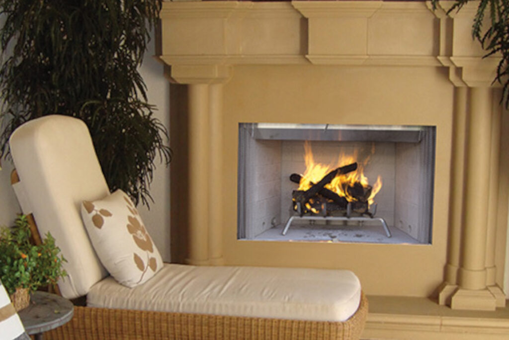 Astria Tuscan Outdoor Fireplace