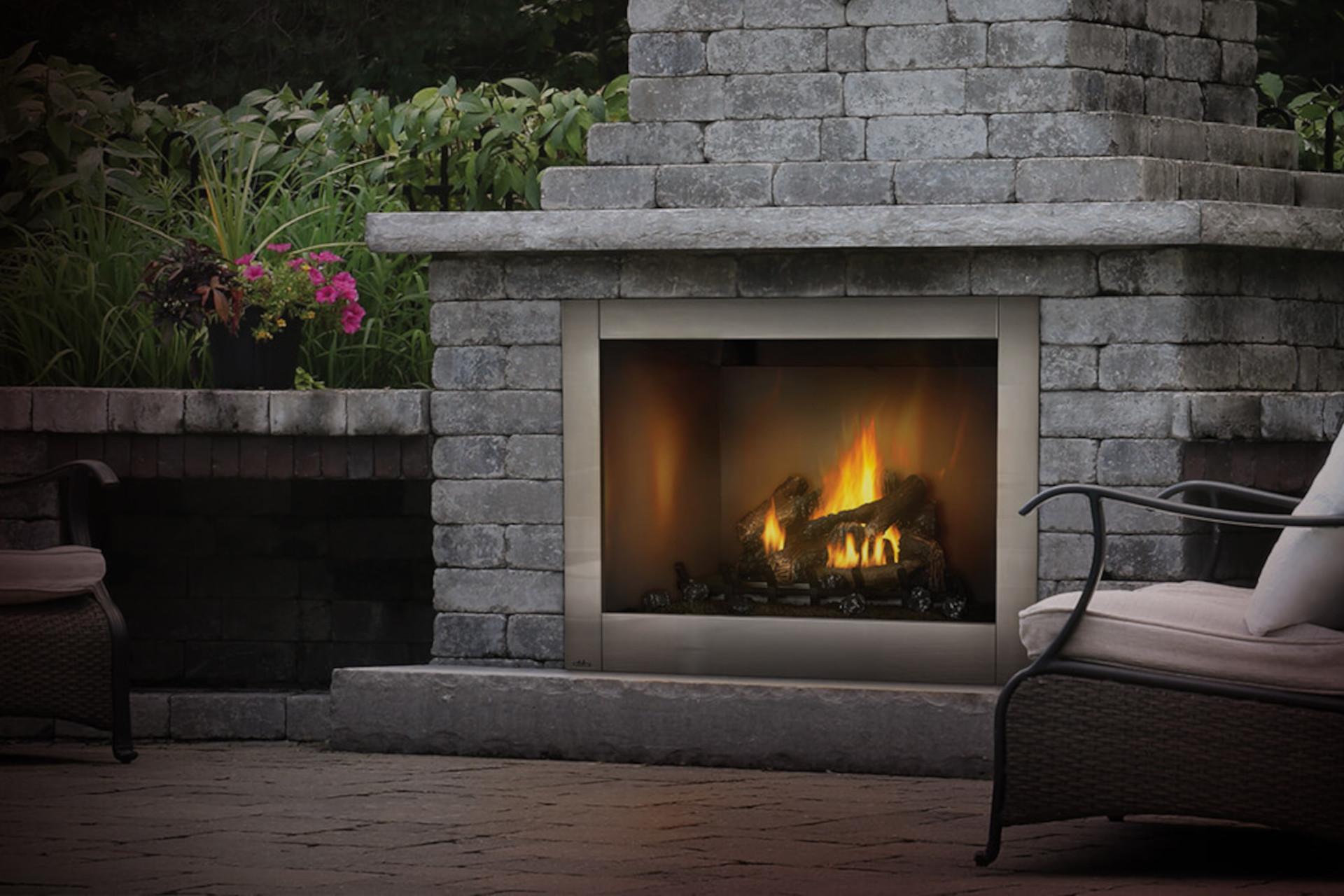 Napoleon Riverside Outdoor Fireplace