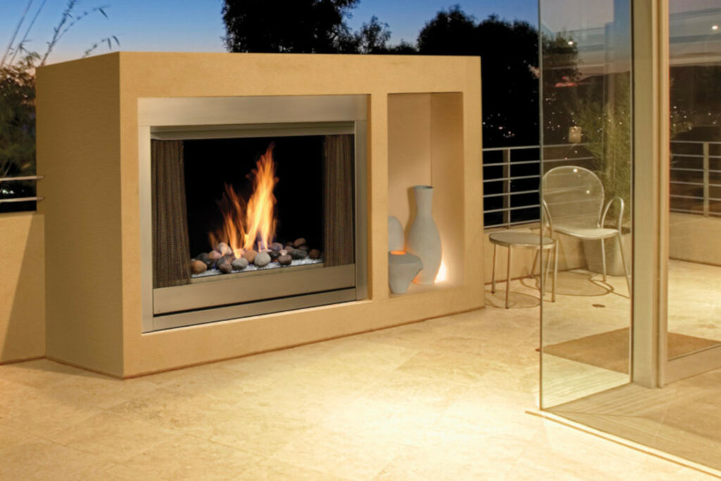 Marquis Aurora Outdoor Fireplace
